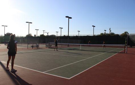 Sage Creek Women's Tennis vs Carlsbad High