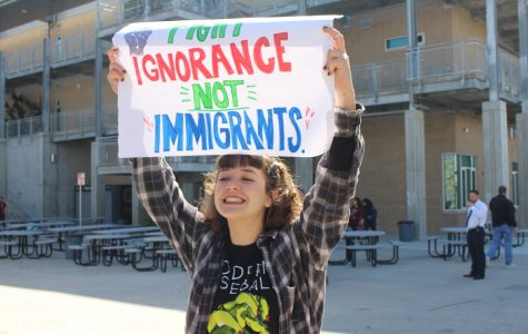 """Students Participate in National """"Day Without Immigrants"""" Protest"""