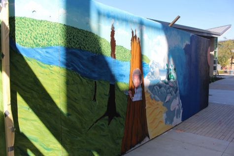 Check out the Art Mural