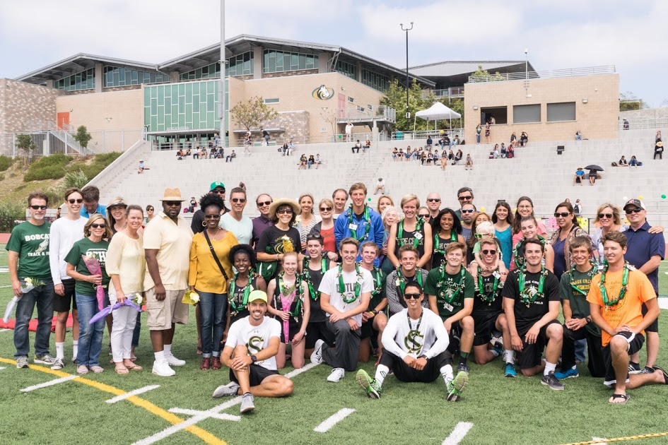Sage Creek senior track and field athletes celebrate their special night.