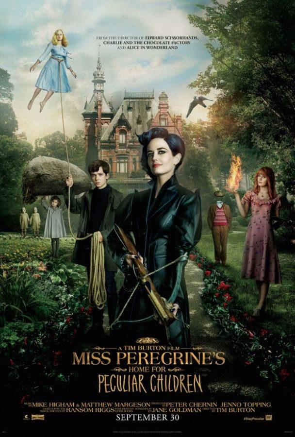 Tim Burton Gives 'Miss Peregrine' Wings