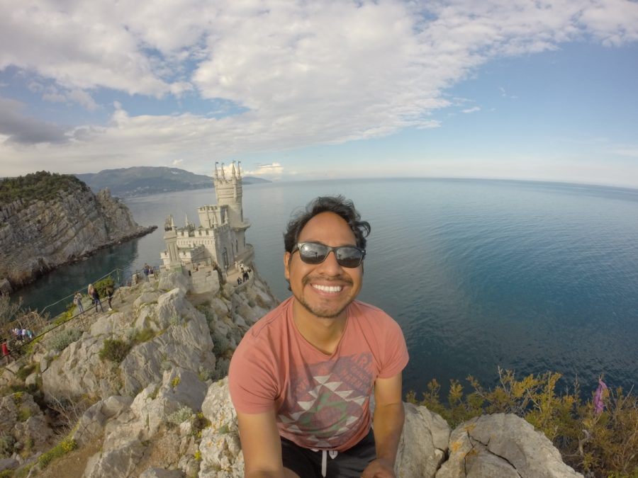 Vincent Tamayo on his Russia trip.