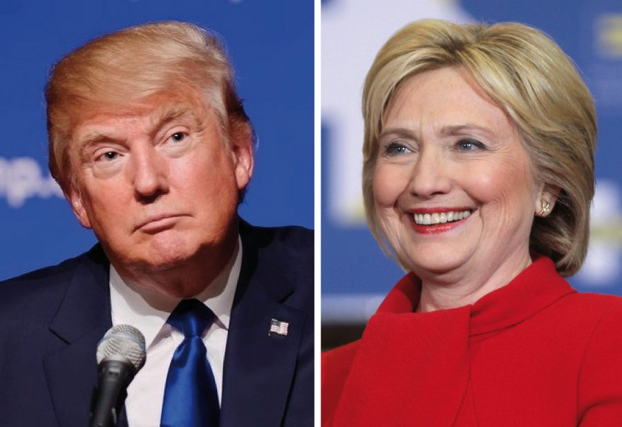 Hillary Clinton v. Donald Trump
