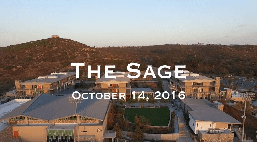 The Sage: October 14, 2016