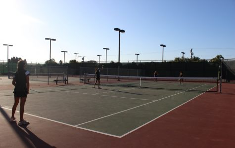 Sage Creek Women's Tennis vs Carlsbad High