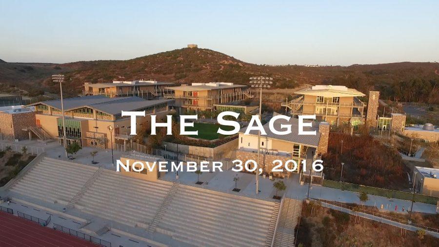 The Sage: November 30, 2016