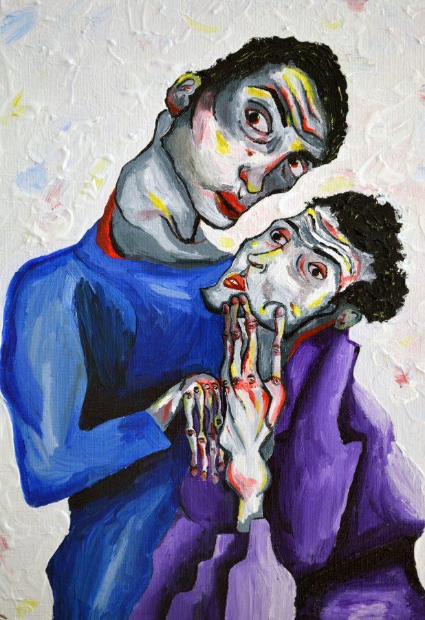 Painted by junior, Addie Hull.