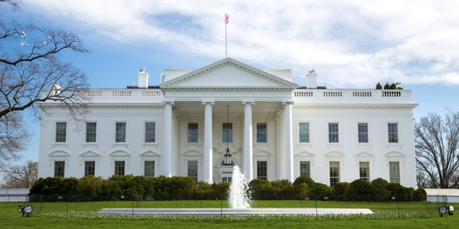 Donald Trump's soon-to-be residence, the White House. (Wikimedia Commons)