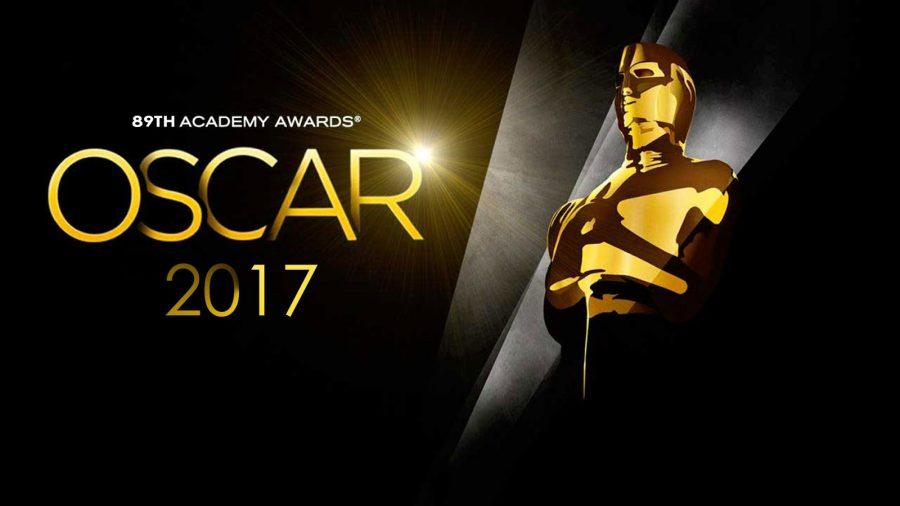 An illustration of the 2017 Oscars logo.