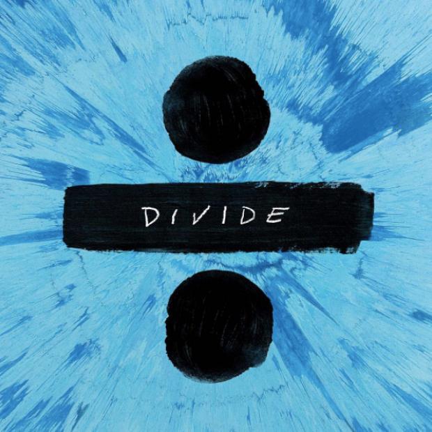 Ed+Sheeran%27s+self-painted+album+cover+for+his+latest+album%2C+%22Divide.%22+