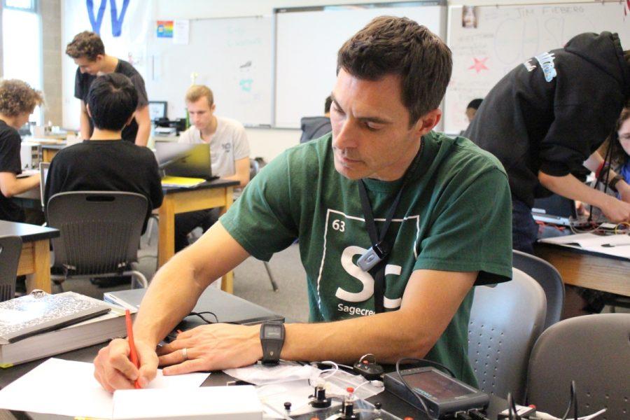 Teacher of the Year: James Fieberg