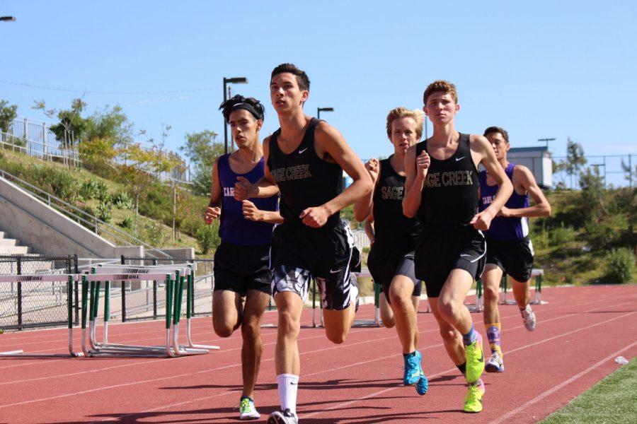 Christian Mitchell, Brad Nelson, Will Maas - Varsity 1600m