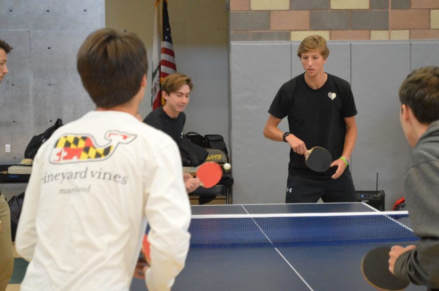 Ping Pong competitors fight for the title