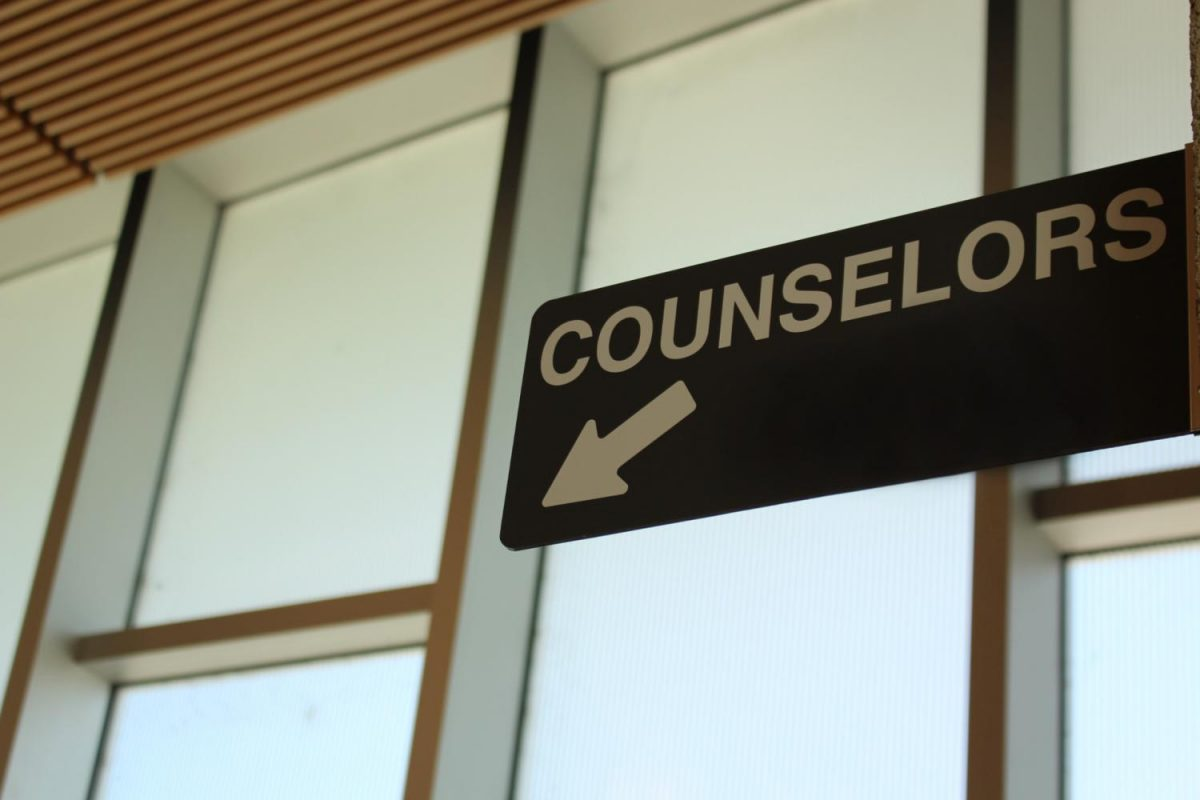 Sign to the counselor offices