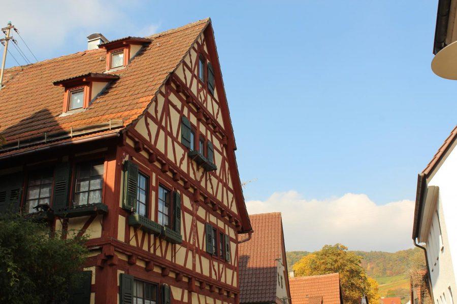 A classic, german-style house in Ensingen.