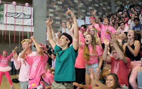 ASB Uses Pink Out Pep Rally to Kick Off the Year