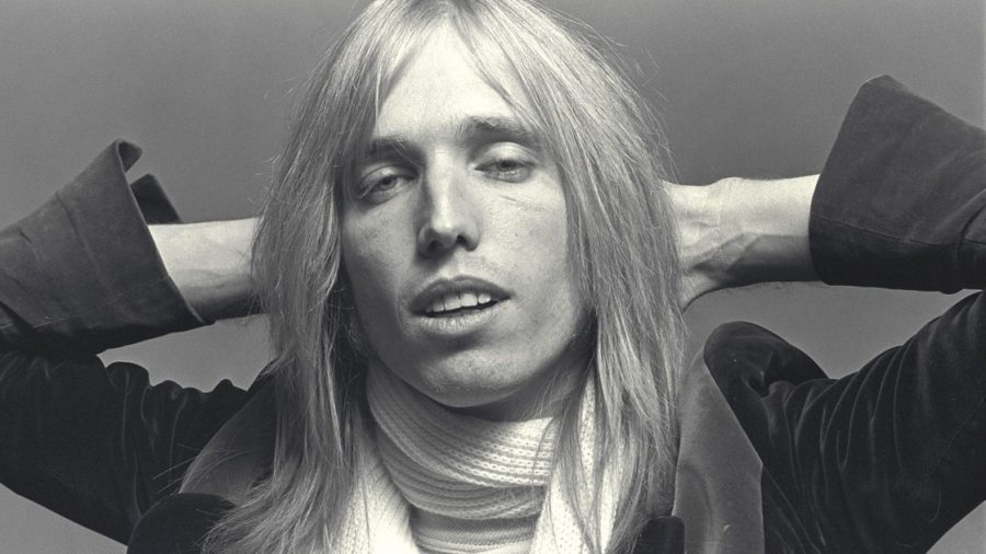 Tom Petty poses for a photo in 1976.