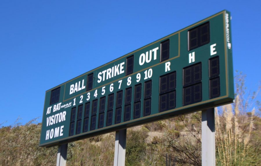 Sage Creek Baseball and Softball Receive New Scoreboard