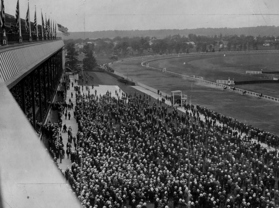 Breeders cup at Saratoga Race Course in 1922.