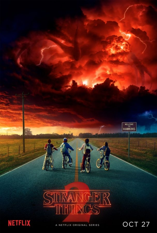 "The new season of Stranger Things was released on Netflix on Oct. 27. It features old and new characters alike and the resurgence of the ""upside down."""