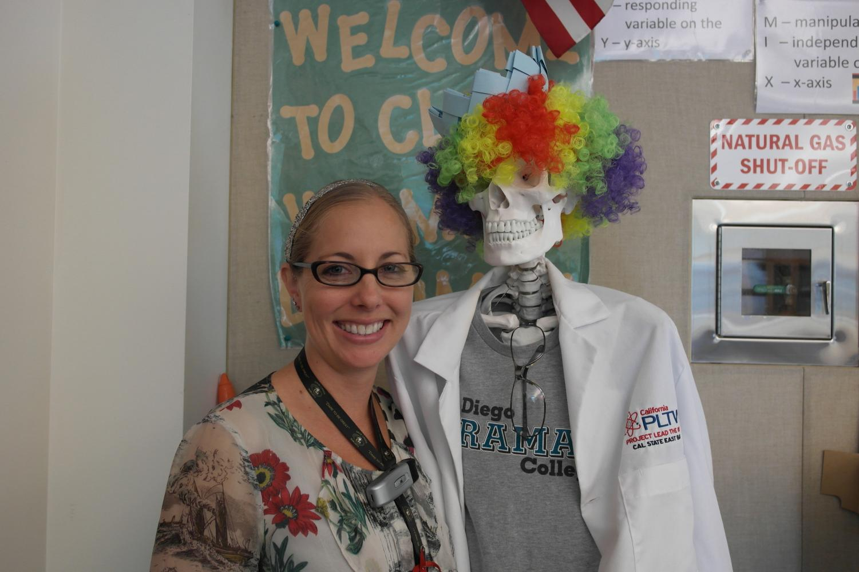 Juli Bachman, a bio-med teacher.