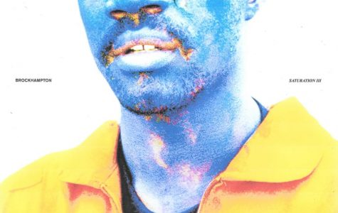 The album cover of Saturation III, the last of the trilogy, features member Ameer Vann as did the two previous albums did, this time in a jumpsuit with a single tear.