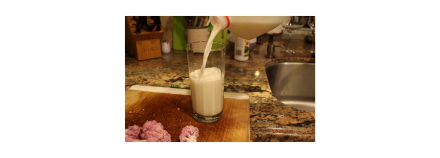 Having a glass of milk with your dinner is always a good way to improve your body.