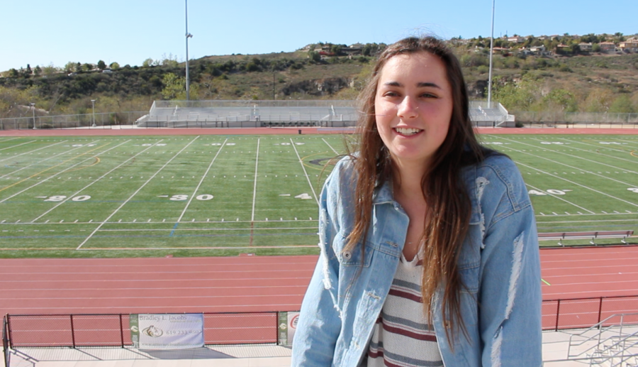 Harper Hughes is a sophomore soccer player at Sage Creek. She plays competitively for LA Galaxy.