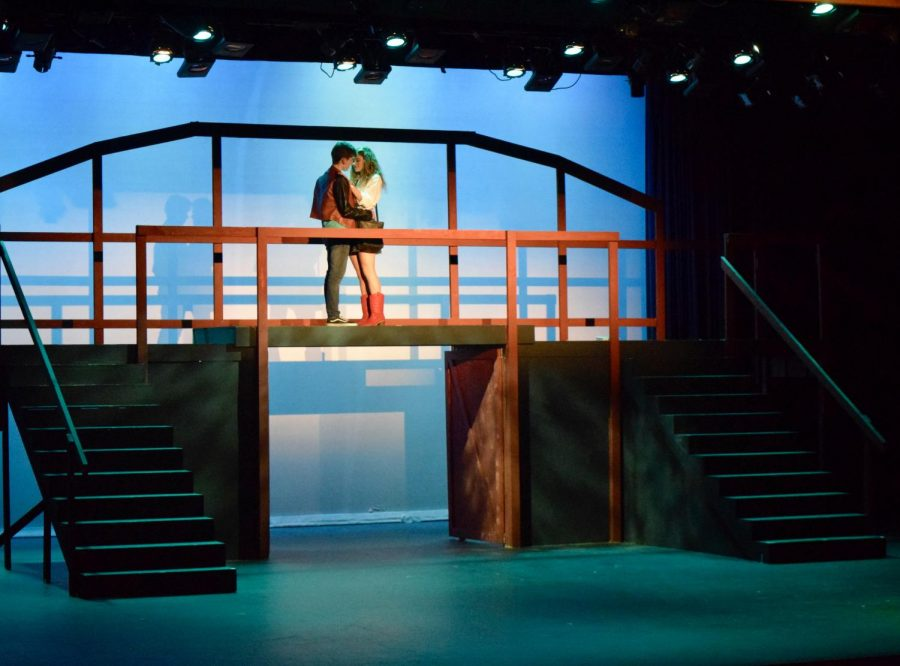 Max Pedrazzani and Avalon Call, known as Ren and Ariel in the show, seen up on the bridge for one of the final scenes.