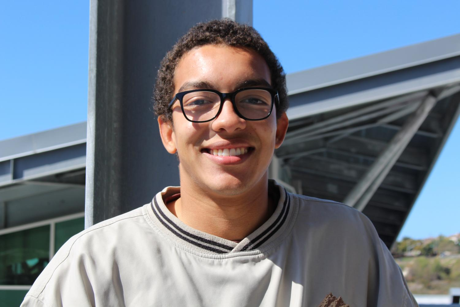 ASB President Duncan Kelley joined ASB two years ago. Kelley helps ASB plan pep rallies, dances, and other events.