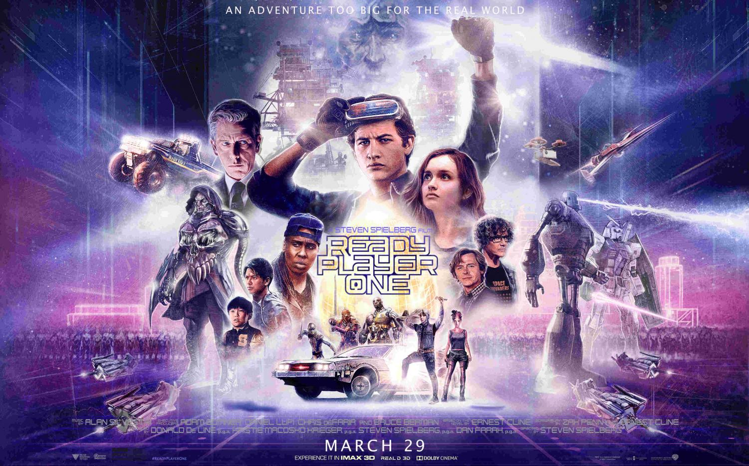 """Ready Player One"" is not just a return to blockbusters for Spielberg; it's the return of Spielberg in general."