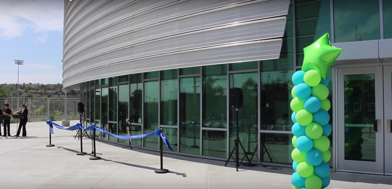 At the end of last year, the Performing Arts Center was completed and welcomed with a ribbon cutting ceremony. To celebrate the new PAC, a gala will be held this Friday to raise money for the Art department.