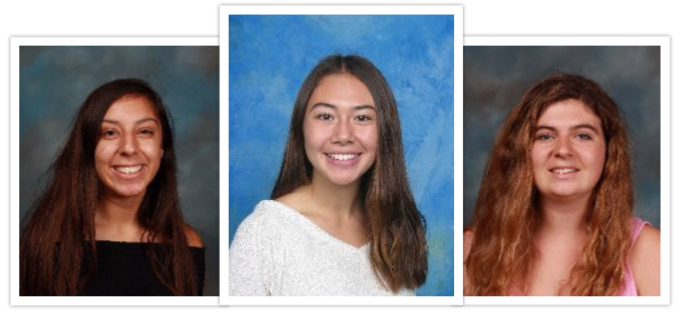 Seniors Katie Cruz, Alexis Petty and Sidney McClellan are the three elected student representatives for the CUSD board this year. They represent Carlsbad High School, Sage Creek High School and Carlsbad Seaside Academy.