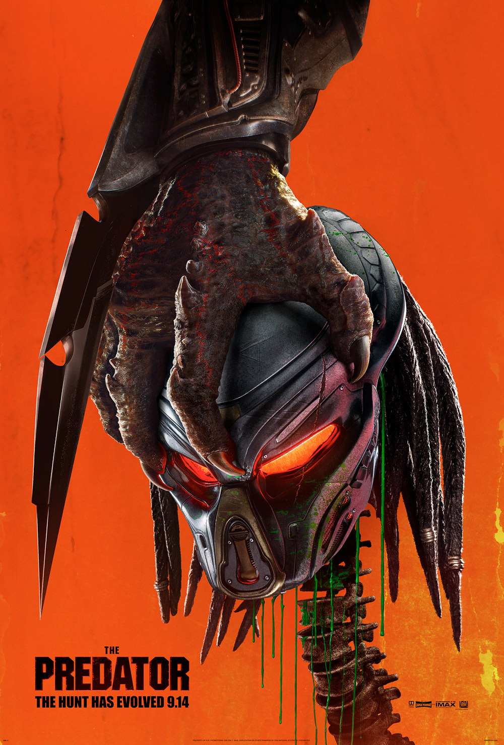 The Predator bursts back into theaters for the first time since 2008. This new iteration of the Predator franchise crushes the box office, topping it with 24 million dollars.