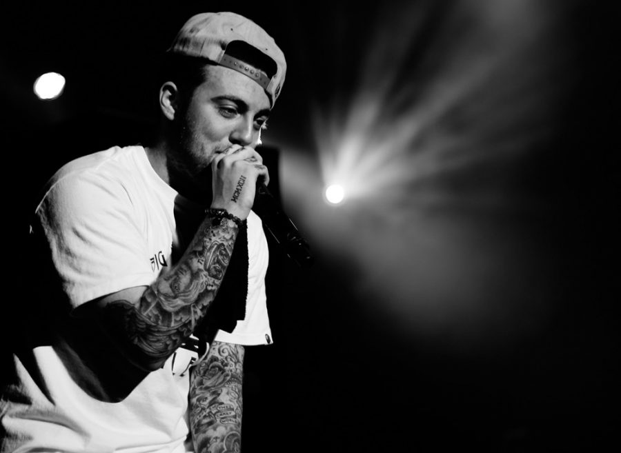 eloved rapper, Mac Miller, singing to his fans with gratefulness in his eyes. Miller's death has hit society hard, knowing that they won't get to see him on stage ever again.