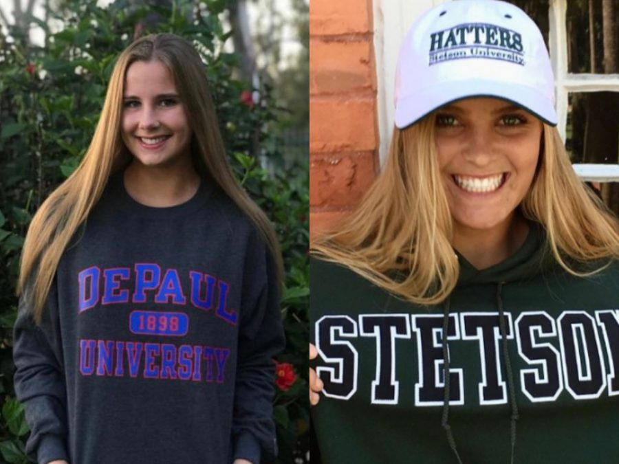 College Commits On the Girls Volleyball Team