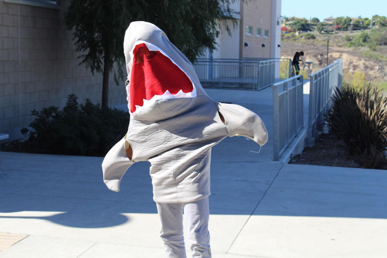 This+Halloween%2C+jaws+were+certainly+dropping+at+the+sight+of+all+of+the+ghouls+and+goblins+on+campus.+Some+students+dressed+as+humans%2C+some+as+sharks+and+many+used+their+costumes+for+Halloween+as+a+way+to+spread+spirit+throughout+the+school.