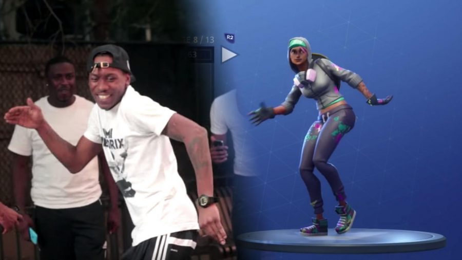 """2 Milly introduces the """"Milly Rock"""" in his 2014 song """"Milly Rock x 2 Milly."""" While 2 Milly's dance gained popularity, when it was introduced in Fortnite people were doing it everywhere, kids and adults alike."""