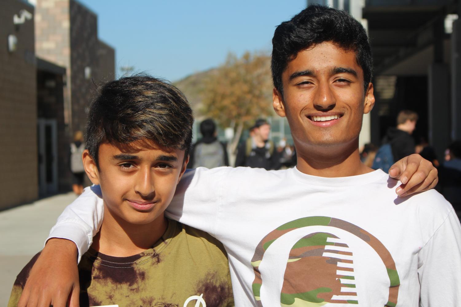Eighth-grader+Ishan+Pandhare+got+an+opportunity+to+live+in+a+day+of+his+brother%2C+Senior+Aryan+Pandhare.+Eighth-graders+from+Aviara+Middle+School+ventured+to+Sage+Creek+pn+Dec.+12+to+shadow+students+for+a+glimpse+of+what+high+school+at+Sage+Creek+is+like.