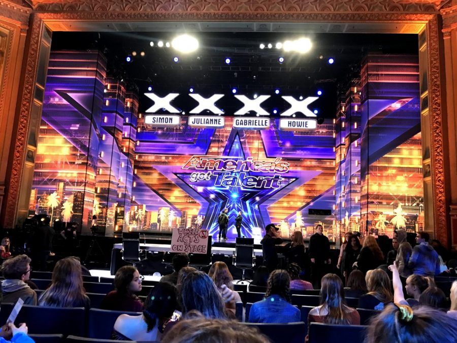 Last week on Wednesday ASB took a field trip to participate in the audience of America's Got Talent in Pasadena. Students and chaperones held front row seats where they were asked to cheer and boo talent acts and the judges.