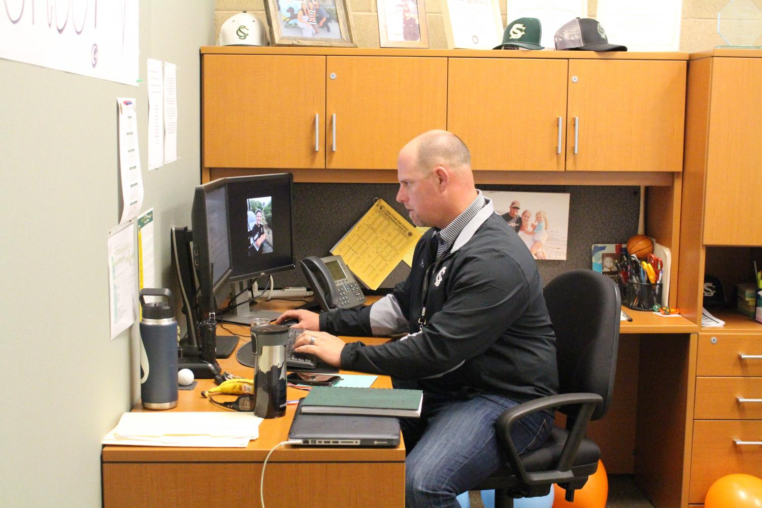 Jesse Schuveiller is now the official principal for the 2019-2020 school year and onwards. He has served as the assistant principal of Sage Creek for the past two years alongside Mr. Morales.
