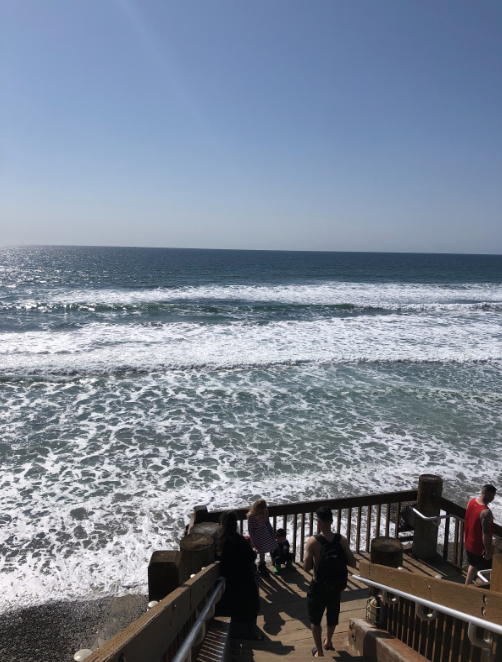 The+waves+reach+between+four+to+six+feet+high+at+Grandview+Beach+on+this+beautiful%2C+sunny+day+in+Encinitas.+If+you%E2%80%99re+looking+to+surf+on+this+fine+day%2C+Encinitas+is+the+way+to+go%2C+as+Tamarack+down+to+Oceanside+only+reach+three+to+five+feet+high.+