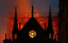 Notre Dame Engulfed in Flames