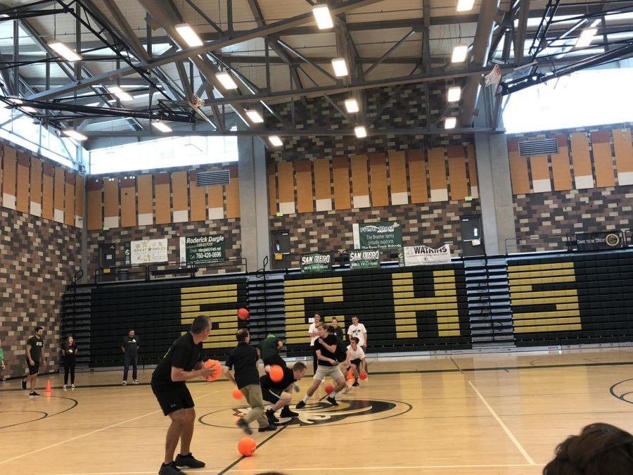 Students and teachers go head to head in the Dodgeball Championships to see who will come out on top. The students ended up dominating the teachers as they came out on top with a score of 3-0.