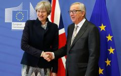 Theresa May, British Prime Minister, has been in charge of negotiations with the EU, led by Jean-Claude Juncker seen to the right, for the past two years. Her plan, agreed upon by all members of the EU, has been having quite a bit of trouble back at home however.