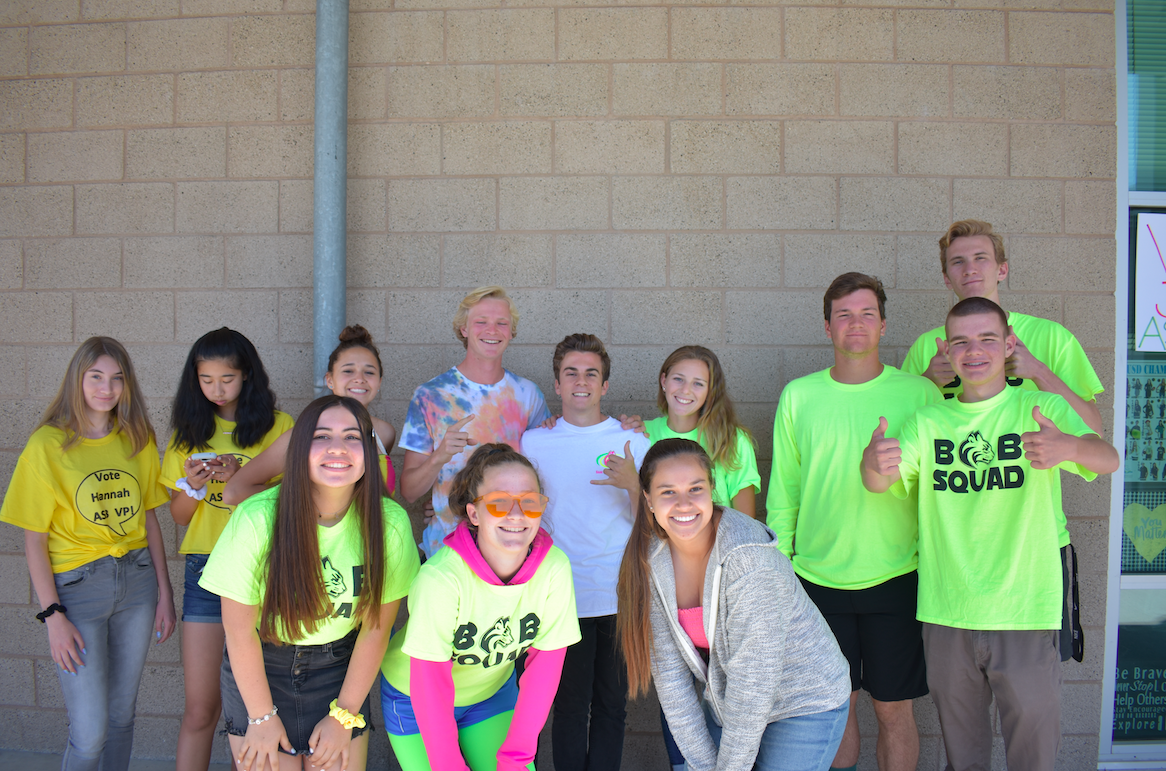 The+ASB+class+shows+off+their+school+spirit+in+neon+on+Wednesday+in+preparation+for+MORP.+Neon+Day+was+one+of+the+spirit+days+this+past+week+including%3A+denim+day%2C+meme+day%2C+tacky+tourist+and+white+out.