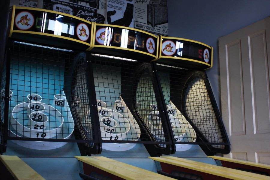 Fun For All: The windmill features a variety of arcade games for all ages. Be sure to play a round of flee-ball when you stop by.