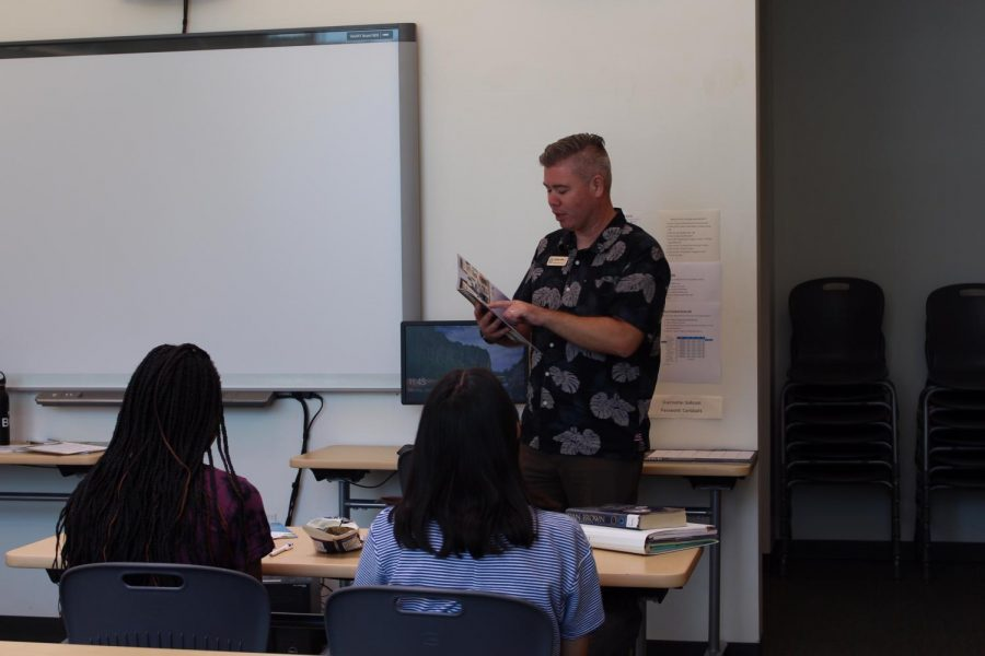 College recruitment from Hawaii Pacific University visits the College and Career Center. On Monday, Sept. 16, HPU spoke to students about the benefits of attending their school and how it differs from other colleges.