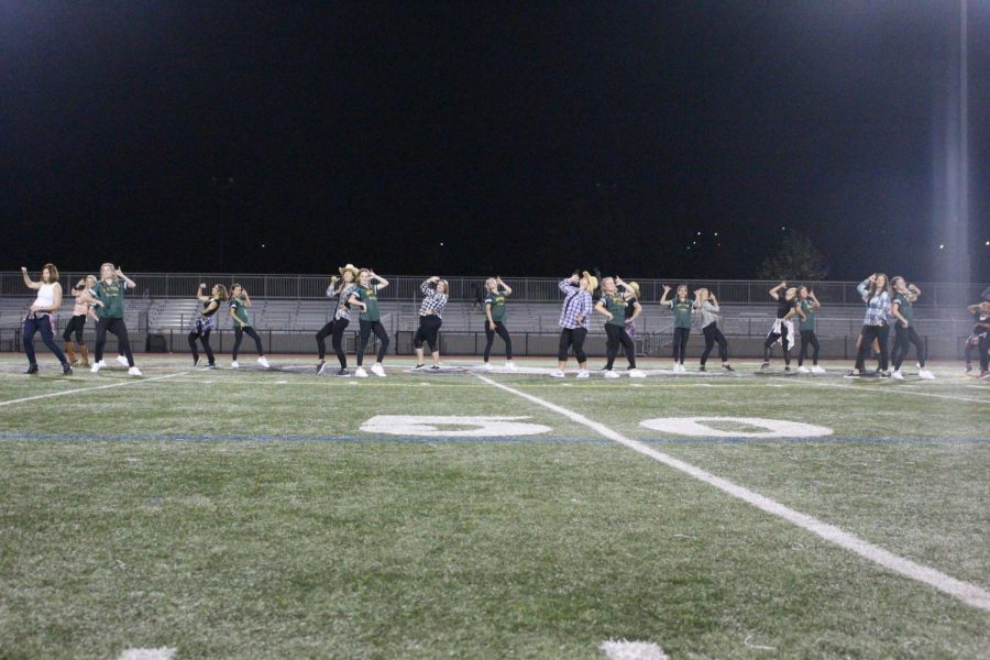 Sage Creek's annual Staff vs. Students Flag Football game took place on Oct. 4. Both the staff and Dance Company performed during the game's show.