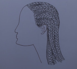 Black women wear their cornrows, a style that has been apart of African American history. Women have been discriminated against for wearing them in recent years.